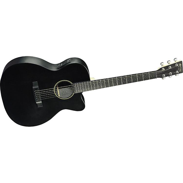 Martin000CXE Black Acoustic-Electric Guitar