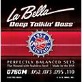 LaBella 0760M Deep Talkin' Bass 1954 Original Flat Wound Electric Bass Strings