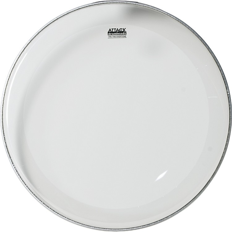 Attack 1-Ply No Overtone Clear Drumhead  22