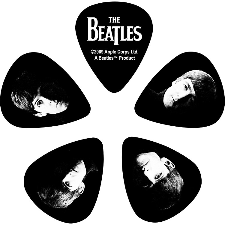 D'Addario Planet Waves 10 Beatles Picks - Meet The Beatles!