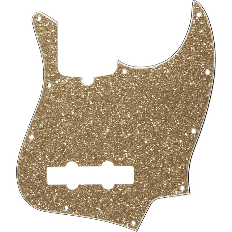 Fender 10-Hole Standard Jazz Bass Pickguard Aged Glass Sparkle