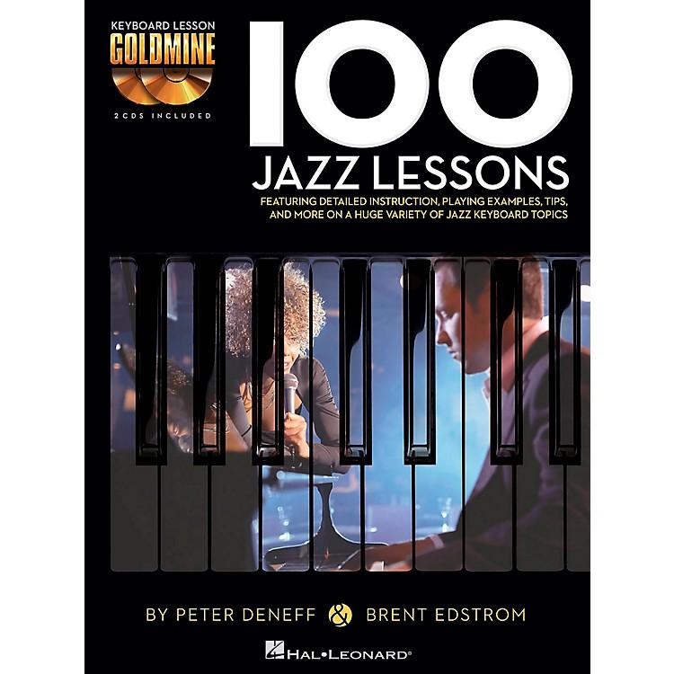 Hal Leonard100 Jazz Lessons - Keyboard Lesson Goldmine Series Book/2-CD Pack
