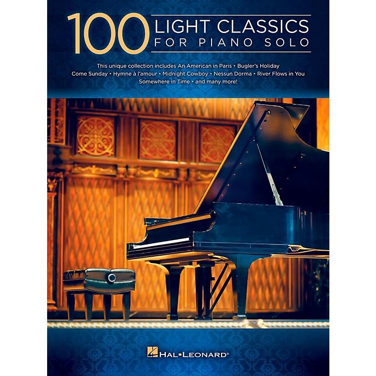 Hal Leonard100 Light Classics For Piano Solo