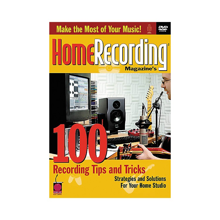 Cherry Lane100 Recording Tips and Tricks Book