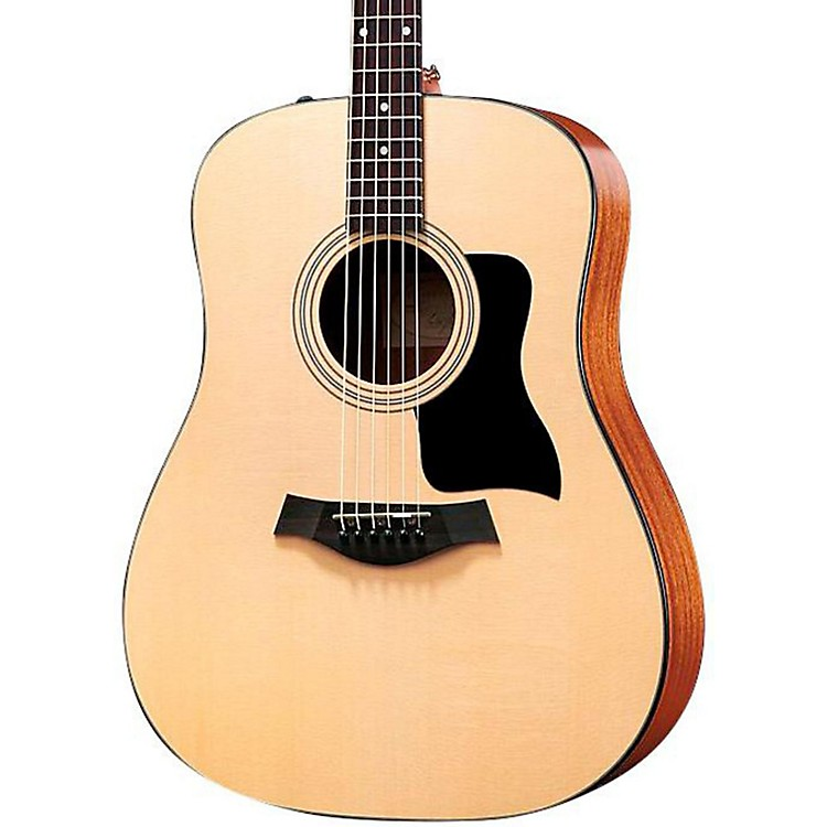 Taylor100 Series 110e Dreadnought Acoustic-Electric GuitarNatural