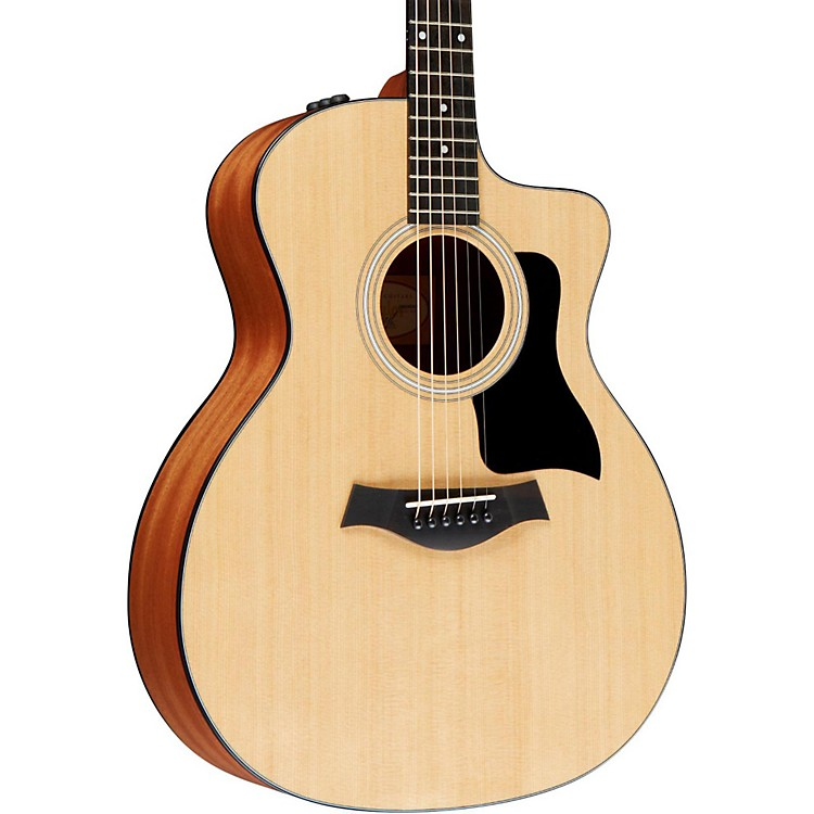 Taylor 100 Series 114ce Grand Auditorium Acoustic-Electric Guitar Natural