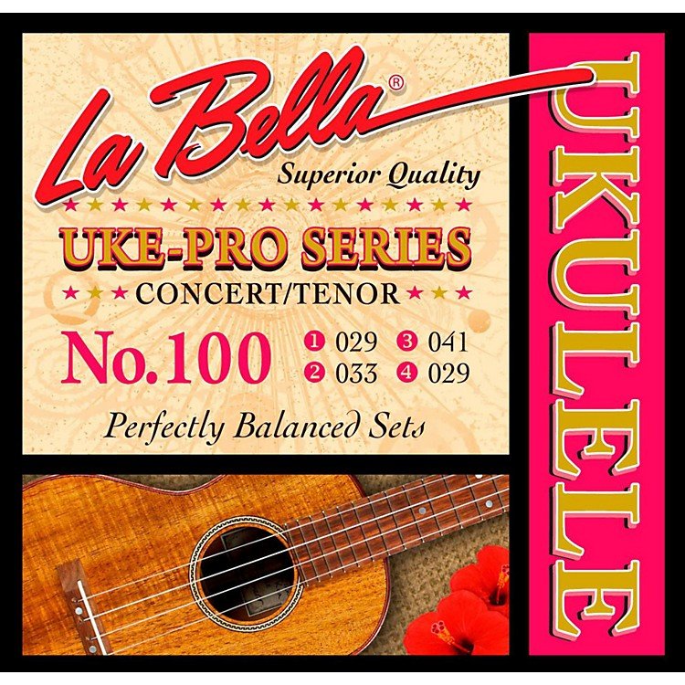 LaBella100 Uke-Pro Concert/Tenor Ukulele Strings