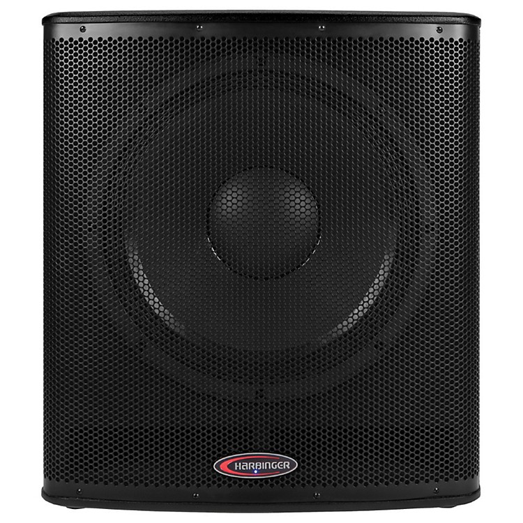 Harbinger 1000W Subwoofer with BBE Processing Black