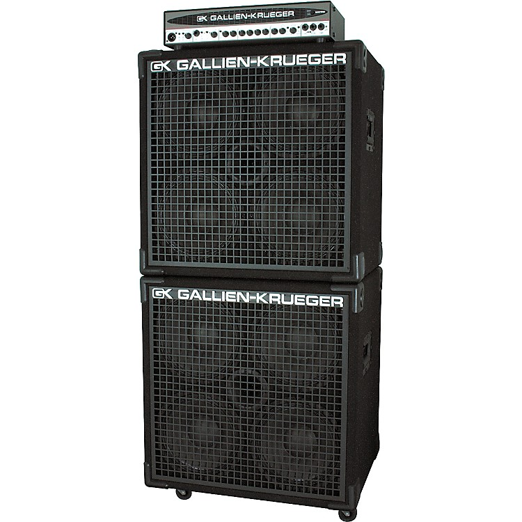 Take charge of the bottom line with the gallien-krueger 1001rb-ii 700/50w biamp bass head