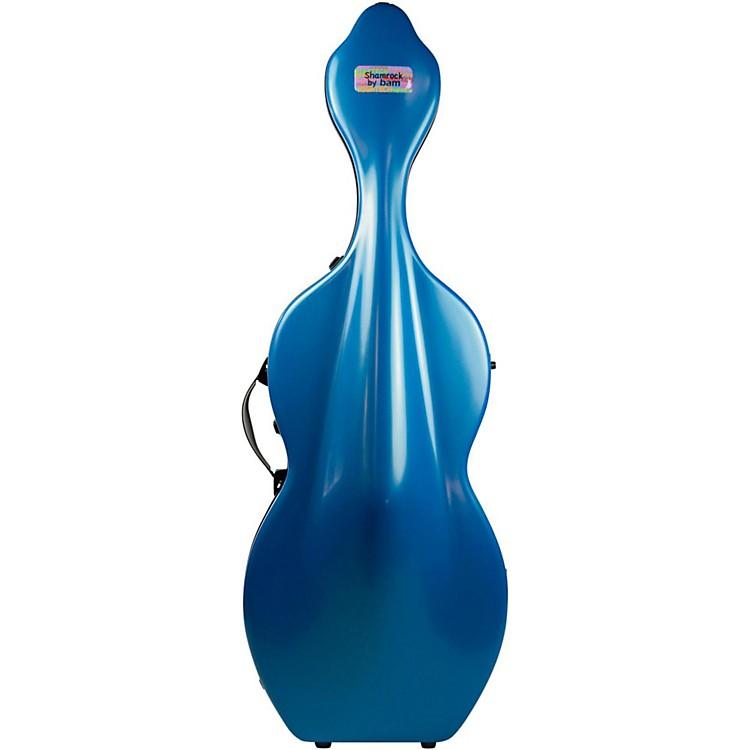Bam1003XL Shamrock Hightech Cello Case without WheelsAzure Blue