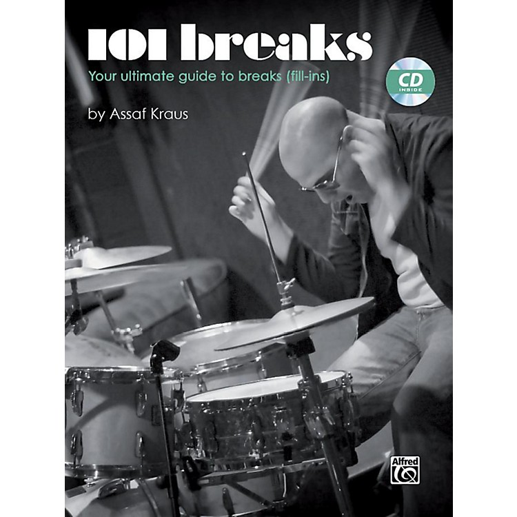 Alfred101 Breaks Drum Book & CD
