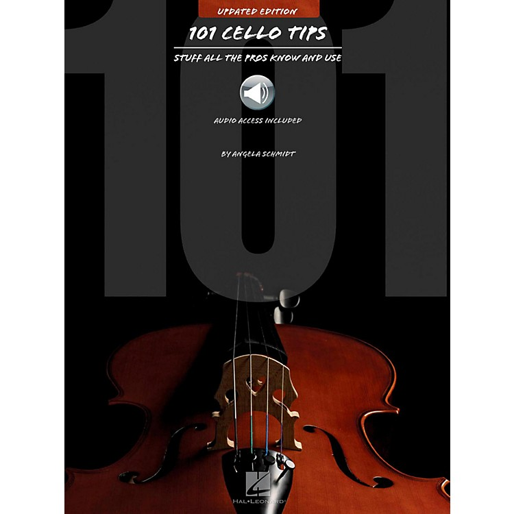 Hal Leonard101 Cello Tips - Stuff All The Pros Know and Use (Book/Audio)