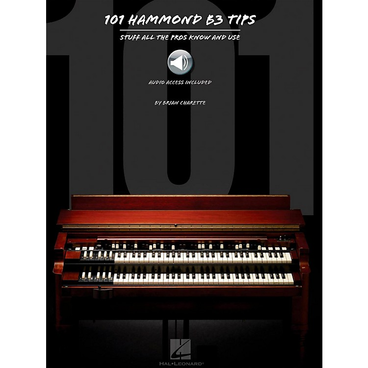 Hal Leonard 101 Hammond B-3 Tips Book/Audio Online