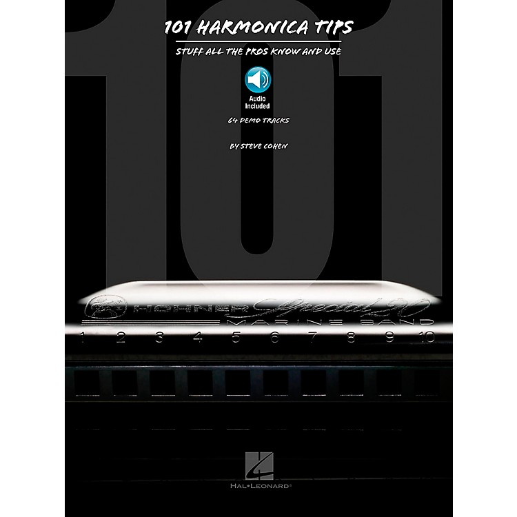 Hal Leonard101 Harmonica Tips - Stuff All The Pros Know And Use (Book/CD)