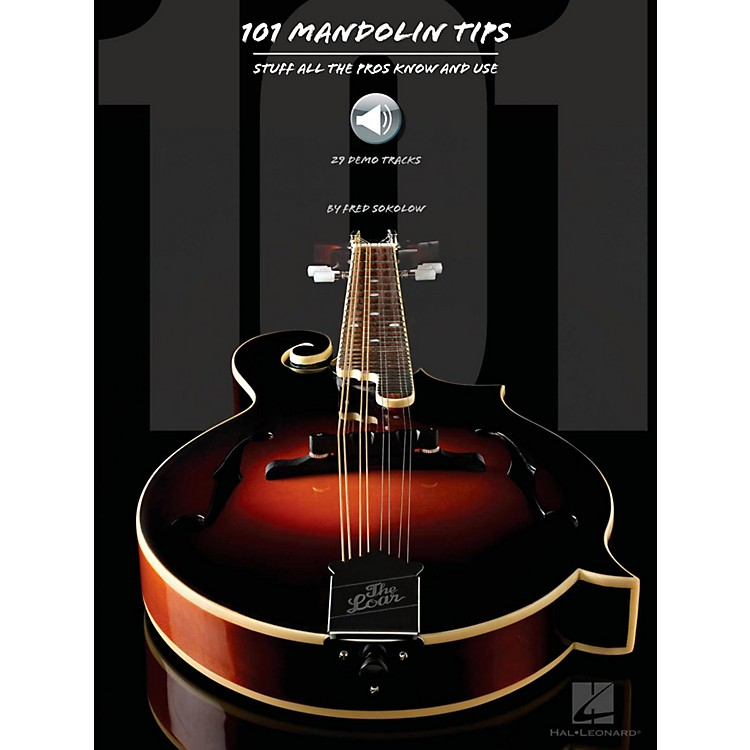 Hal Leonard101 Mandolin Tips (Book/Audio Online )