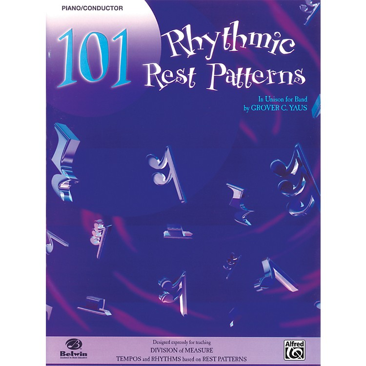 Alfred101 Rhythmic Rest Patterns Conductor (Piano)