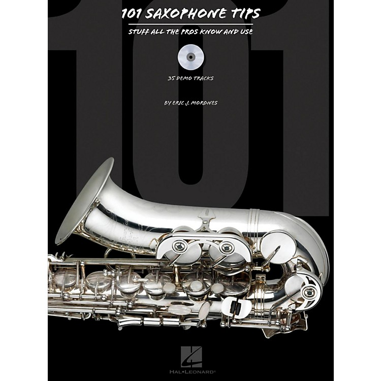 Hal Leonard101 Saxophone Tips - Stuff All The Pros Know and Use Book/CD