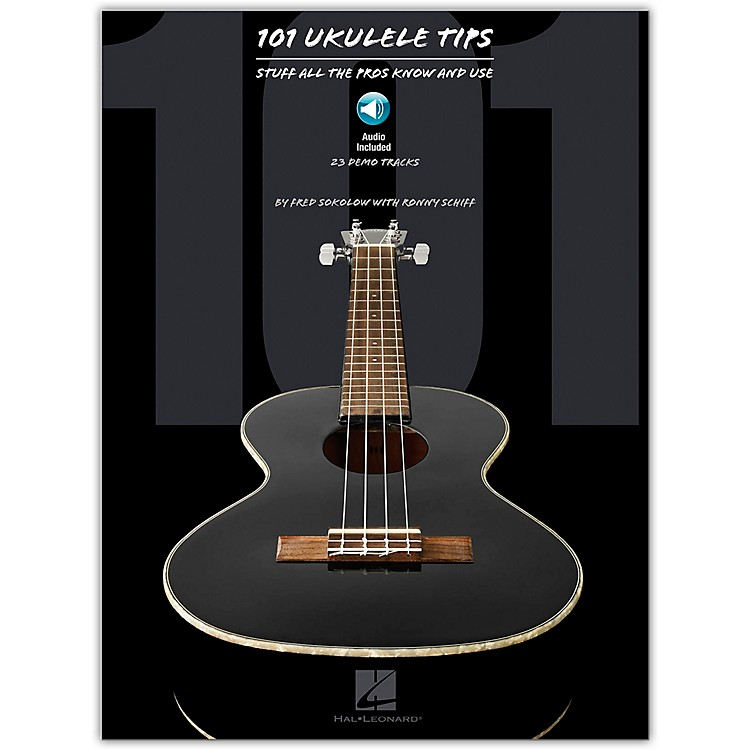 Hal Leonard101 Ukulele Tips - Stuff All The Pros Know And Use Book/CD