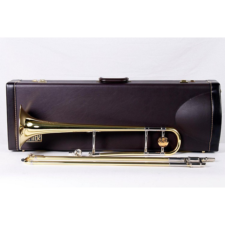 XO 1028 Professional Series Trombone 1028L Lacquer - Yellow Brass Bell 886830763915