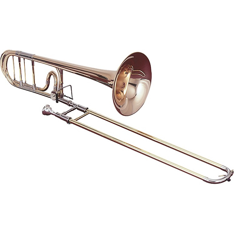 Getzen 1047F Eterna Series F Attachment Trombone 1047Fr Red Brass Bell