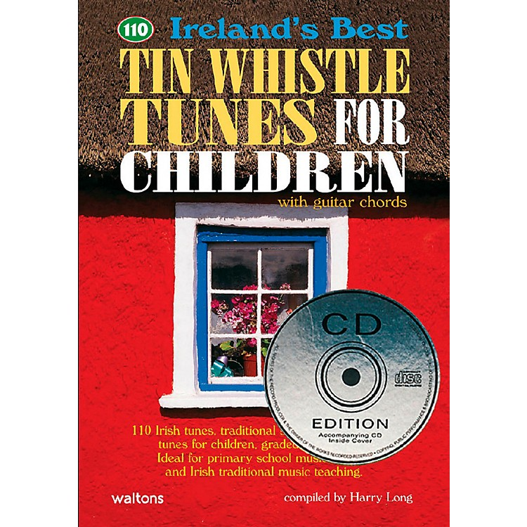 Waltons110 Ireland's Best Tin Whistle Tunes for Children Book/CD