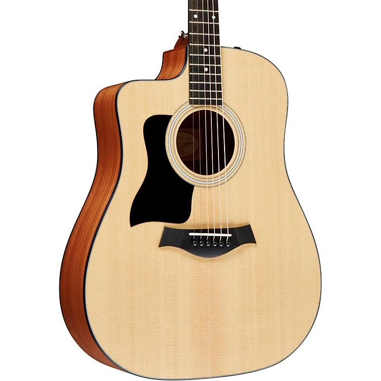 Taylor110ce-L Sapele/Spruce Dreadnought Left-Handed Acoustic-Electric GuitarNatural