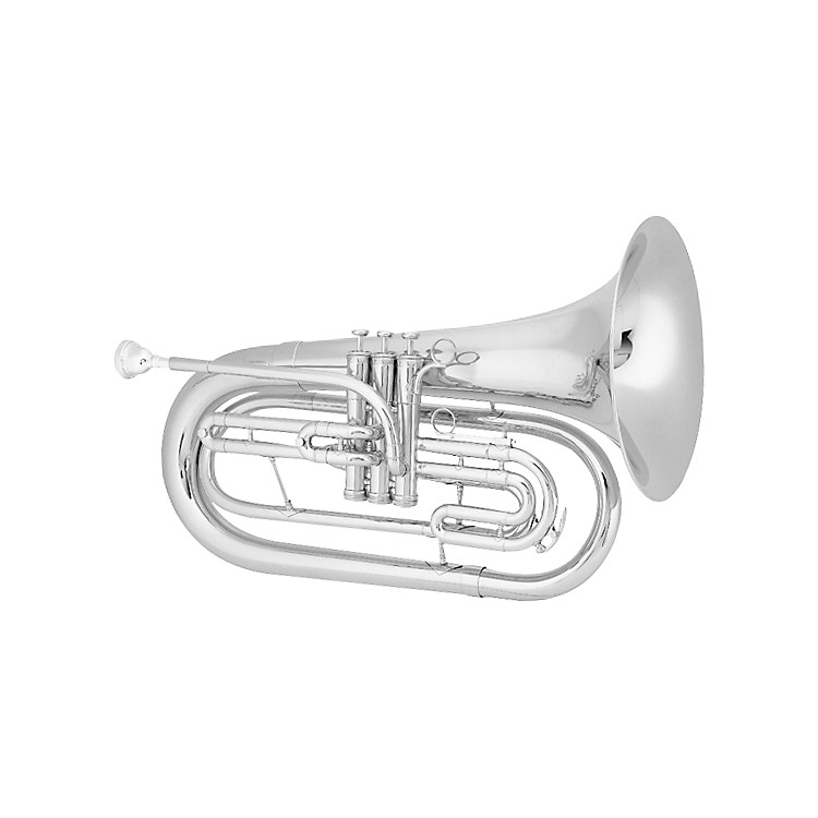 King1124 Ultimate Series Marching Bb Baritone1124SP Silver