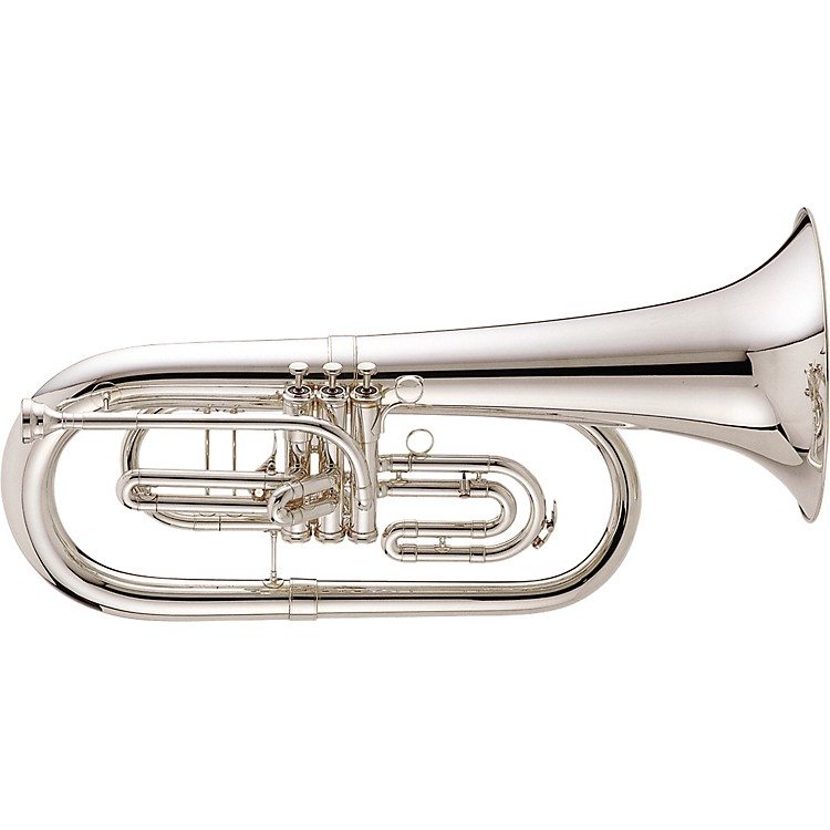 King 1129 Ultimate Series Marching Bb Euphonium 1129SP Silver