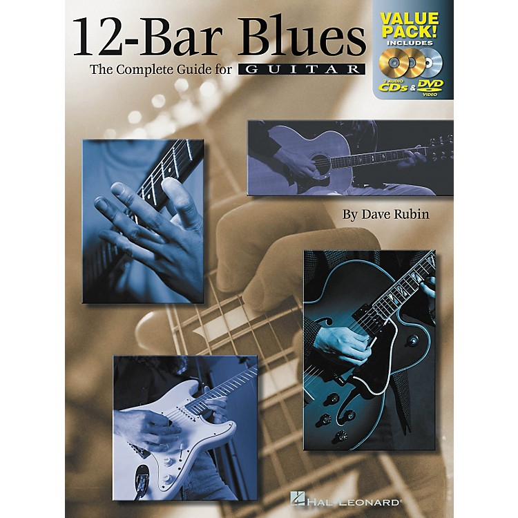 Hal Leonard 12-Bar Blues Guitar: The Complete Guide for Guitar Value Pack (Book/2 CDs/ 1 DVD)
