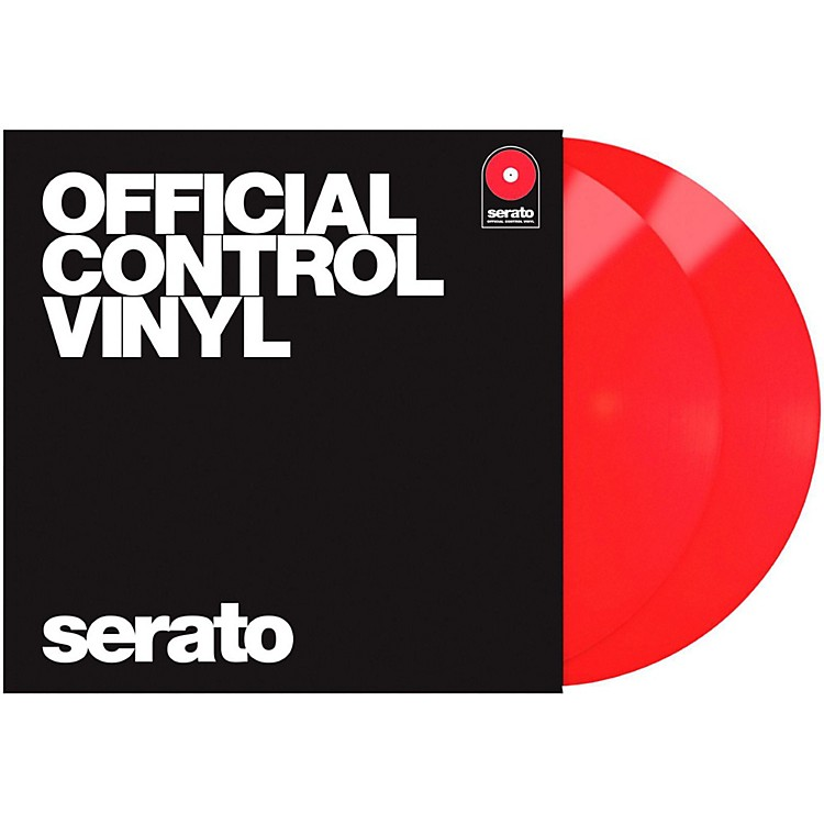 SERATO 12-Inch Official Control Vinyl (Pair) Red