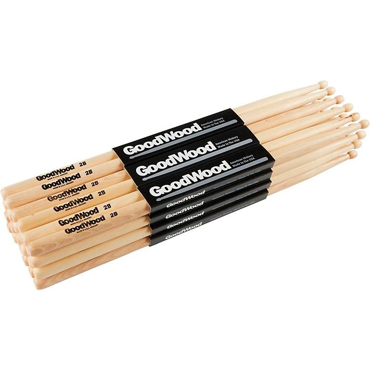Goodwood12-Pack Drumsticks2BWood