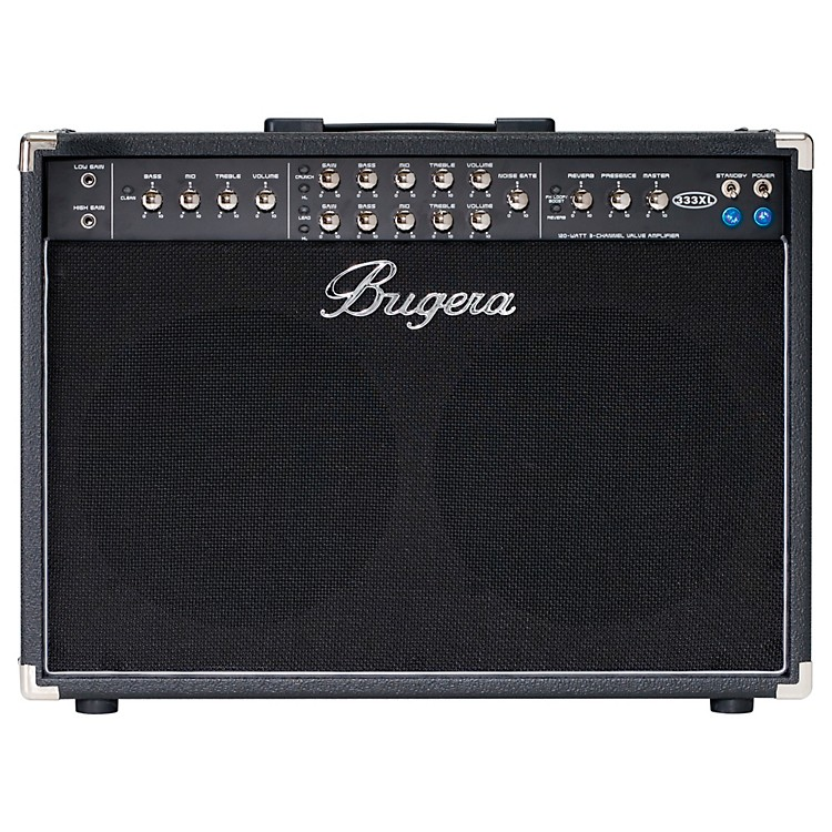 Bugera120W 3 Channel Valve Guitar Combo w/XL feature