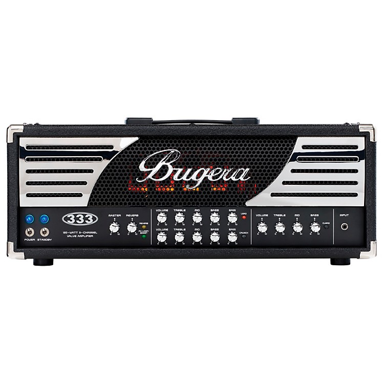 Bugera 120W 3 Channel Valve Guitar Head