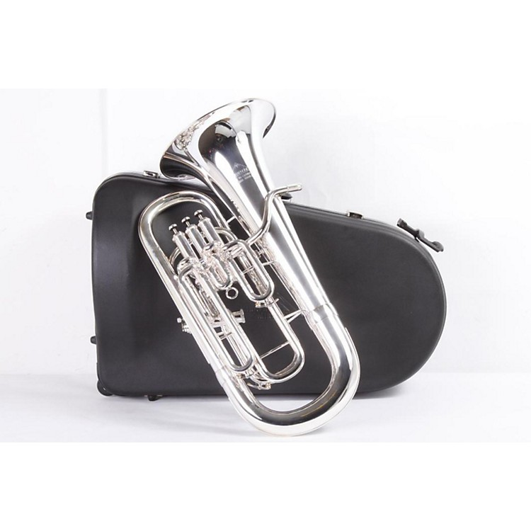 Miraphone 1258A Series Compensating Euphonium 1258AS Silver 886830473739