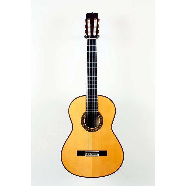Jose Ramirez 130 A±os SP Classical Guitar Natural 888365117546