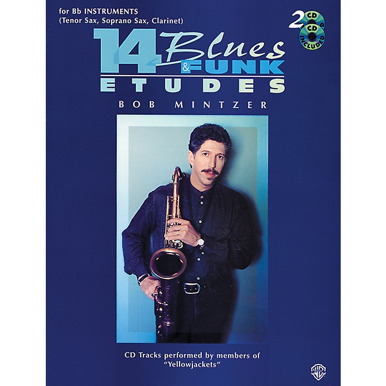 Alfred14 Blues & Funk Etudes for B-Flat Instruments Book/2 CDs