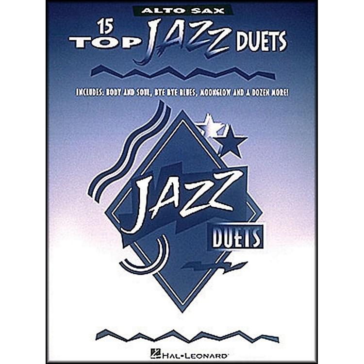 Hal Leonard15 Top Jazz Duets for Alto Sax