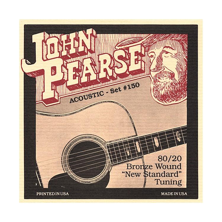 John Pearse150 80/20 Bronze Acoustic Guitar Strings