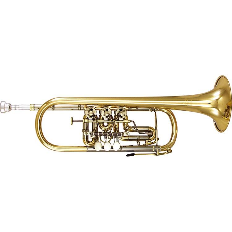 Kanstul1506 Series Rotary C Trumpet1506-2 Silver