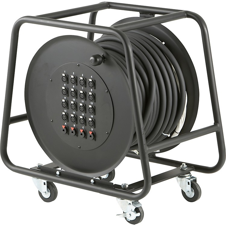 Rapco Horizon 16-Channel/4-Return Snake Reel  100 ft.