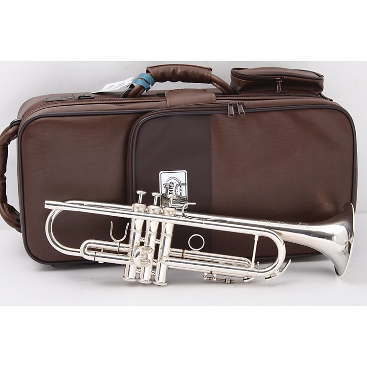 XO 1602S Professional Series Bb Trumpet 1602RS-R Silver -Rose Brass Bell and Reverse Leadpipe 886830006791