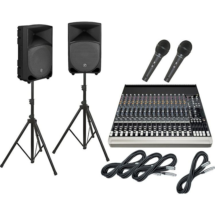 Mackie 1604-VLZ3 / TH-12A PA Package