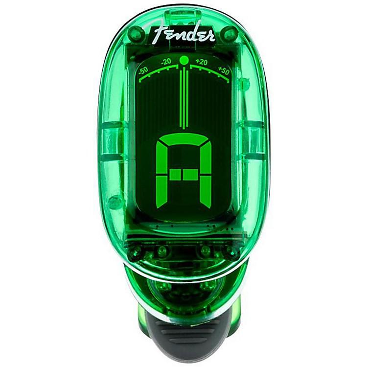 Fender1620 California Series Clip-On TunerGreen