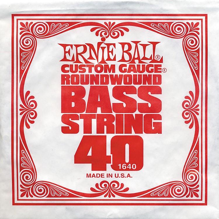 Ernie Ball1640 Single Bass Guitar String