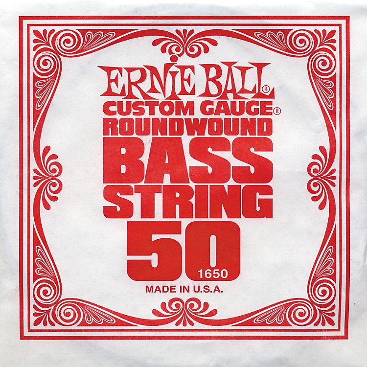 Ernie Ball 1650 Single Bass Guitar String