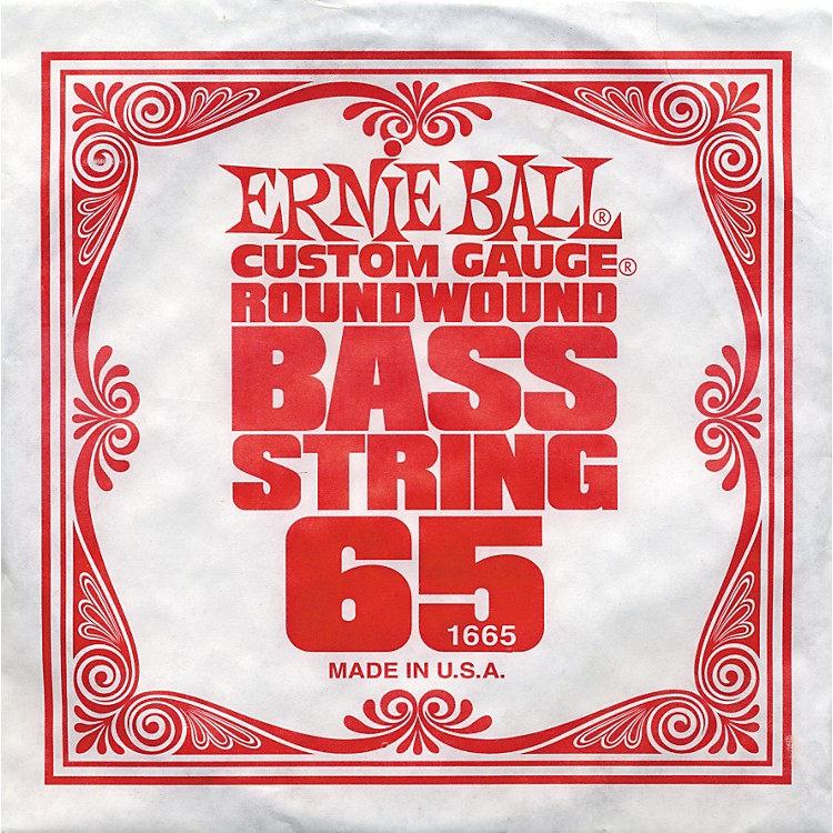Ernie Ball 1665 Single Bass Guitar String