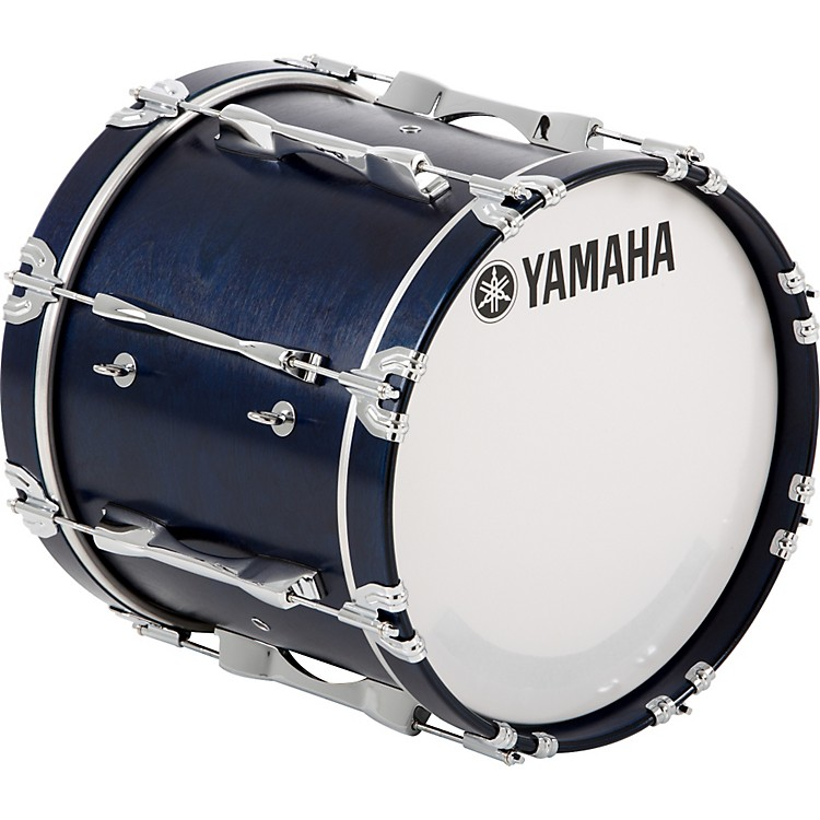 Yamaha 16x14 8200 Series Field Corp Bass Drum 16X14 White