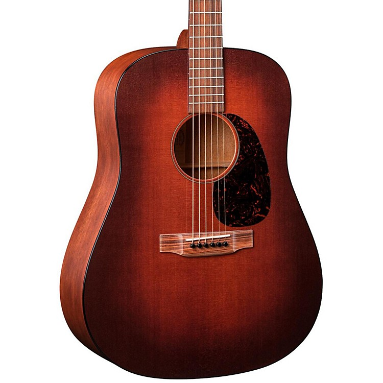 Martin 17 Series D-17M Dreadnought Acoustic Guitar Sunburst