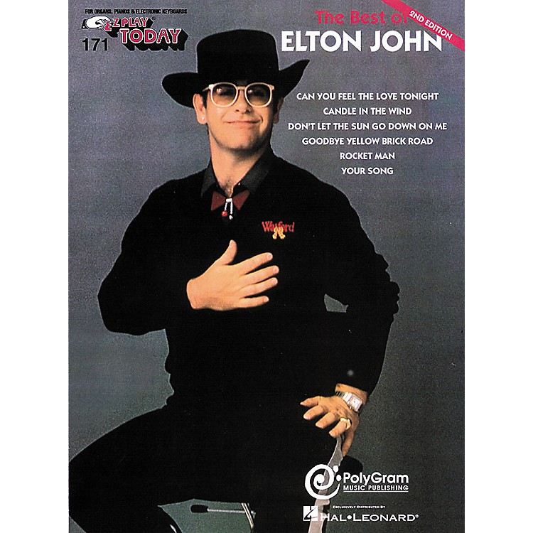 Hal Leonard 171. The Best of Elton John