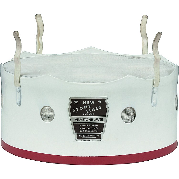 Humes & Berg 172 Bass Trombone Bucket Mute  9 in.